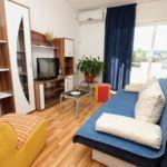 Apartament 4-osobowy z klimatyzacją z widokiem na morze z 1 pomieszczeniem sypialnianym A-9349-a
