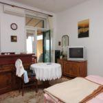 Apartament 3-osobowy z klimatyzacją z widokiem na morze z 1 pomieszczeniem sypialnianym AS-7912-a