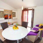 Apartament cu aer conditionat cu vedere spre mare cu 1 camera pentru 4 pers. A-11418-a