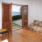 Apartament 4-osobowy z klimatyzacją z widokiem na morze z 1 pomieszczeniem sypialnianym AS-4834-a
