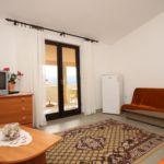 Apartament 5-osobowy z klimatyzacją z widokiem na morze z 1 pomieszczeniem sypialnianym A-6326-b