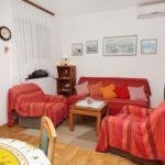 Apartman s klimatizací pro 4 os. se 2 ložnicemi s výhledem na moře A-5734-b