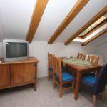 Apartament cu aer conditionat cu vedere spre mare cu 1 camera pentru 5 pers. A-2178-a