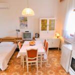 Apartament 3-osobowy z klimatyzacją z widokiem na morze z 1 pomieszczeniem sypialnianym A-5481-c