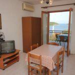 Apartament 6-osobowy z klimatyzacją z widokiem na morze z 2 pomieszczeniami sypialnianymi A-2470-a
