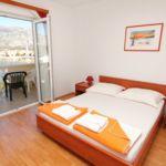 Tengerre néző légkondicionált 3 fős apartman 1 hálótérrel AS-3248-j