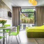 Studio Apartman s terasou pro 3 os. s 1 ložnicí