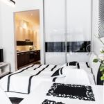 Apartament 4-osobowy Studio z tarasem z 1 pomieszczeniem sypialnianym