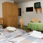 Camera cvadrupla familial(a) cu vedere spre padure