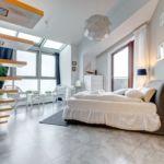 Apartament 6-osobowy Exclusive z widokiem na morze z 3 pomieszczeniami sypialnianymi