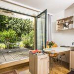 Apartament 2-osobowy z dostępem do ogrodu z widokiem na ogród z 1 pomieszczeniem sypialnianym