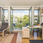 Apartament cu balcon cu vedere spre gradina cu 1 camera pentru 2 pers.