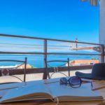 Трехкомнатный 6-местный апартамент с видом на море с кондиционером