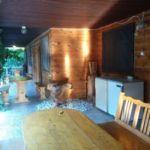 Fürdőszobás teraszos 4 fős faház