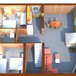 Apartament family cu vedere spre oras cu 2 camere pentru 6 pers.