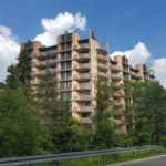 Apartament cu balcon cu balcon cu 2 camere pentru 4 pers.