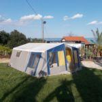Tóra néző Sátor 4 fős bungalow (pótágyazható)