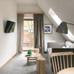 Apartament 4-osobowy Family Przyjazny podróżom rodzinnym z 2 pomieszczeniami sypialnianymi (możliwa dostawka)