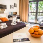 Apartament 3-osobowy Studio z tarasem z 1 pomieszczeniem sypialnianym