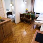 Classic apartman, 2 hálószobával, konyha