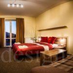 Lux  Pokoj s manželskou postelí (s možností přistýlky)