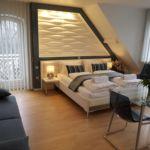 Apartament 3-osobowy Studio Przyjazny podróżom rodzinnym z 1 pomieszczeniem sypialnianym
