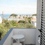 Apartament 2-osobowy z klimatyzacją z widokiem na morze z 1 pomieszczeniem sypialnianym AS-5064-b