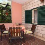 Légkondicionált teraszos 5 fős apartman 2 hálótérrel A-6817-a