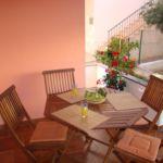 Apartament 6-osobowy z klimatyzacją z balkonem z 2 pomieszczeniami sypialnianymi A-14280-b
