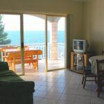 Apartman s klimatizací pro 4 os. s 1 ložnicí s výhledem na moře A-14341-a