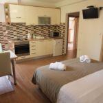 Apartman s klimatizací s balkónem s manželskou postelí s 1 ložnicí AS-14767-a