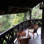 Folyóra néző kertre néző négyágyas szoba