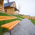 Hegyekre néző teraszos 6 fős faház (pótágyazható)