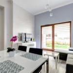 Apartament 4-osobowy na parterze z dostępem do ogrodu z 1 pomieszczeniem sypialnianym