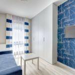 Apartament 2-osobowy na piętrze z aneksem kuchennym z 1 pomieszczeniem sypialnianym