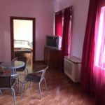 Erkélyes Romantik 2 fős apartman 1 hálótérrel (pótágyazható)