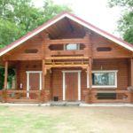Udvarra néző teljes ház 8 fős faház (pótágyazható)
