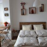 Emeleti légkondicionált 2 fős apartman 1 hálótérrel