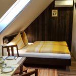 Légkondicionált saját konyhával kétágyas szoba