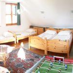 Emeleti Standard 6 fős apartman 2 hálótérrel (pótágyazható)
