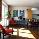 Apartament 4-osobowy z balkonem z wanną z 1 pomieszczeniem sypialnianym