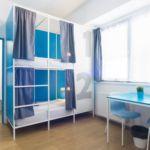 Camera single pat in dormitor comun cu 4 X paturi