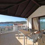 Apartament 3-osobowy z klimatyzacją z widokiem na morze z 1 pomieszczeniem sypialnianym