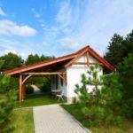 Erdőre néző földszintes 1 fős bungalow