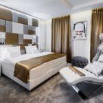 Emeleti Deluxe franciaágyas szoba