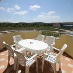 Apartament cu aer conditionat cu vedere spre mare cu 1 camera pentru 4 pers. A-6244-a