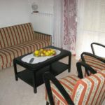 Apartament cu aer conditionat cu vedere spre mare cu 1 camera pentru 5 pers. A-14742-a