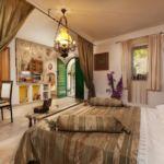 Apartament 6-osobowy z klimatyzacją z widokiem na morze z 2 pomieszczeniami sypialnianymi K-6833