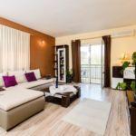 Tengerre néző légkondicionált 4 fős apartman 2 hálótérrel K-12152