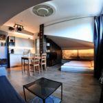 Studio Art 4 fős apartman 1 hálótérrel